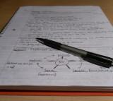 Pen, note, writing