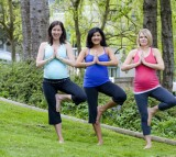 Yoga, pregnant