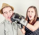 Women, couple, argument, fight