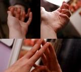 fidget, hands