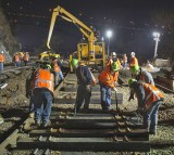 Construction, work, Night
