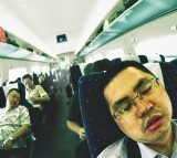 sleeping, train, Chinese, snore