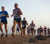 Running, sweat