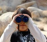 Binoculars Child Magnification Lookout Look Binocs