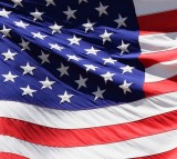America American Blue Country Flag