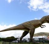 A large model T-Rex dinosaur named Jeff
