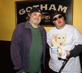 Comedians Artie Lange and 'Laugh For Sight' Founder Brian Fischler.