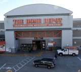 A view of a Home Depot store on November 17, 2015 in Colma, California.