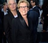 Premier of Ontario Kathleen Wynne (R) and Jane Rounthwaite.